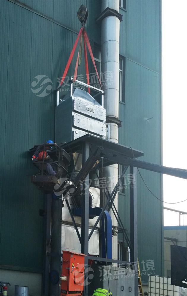 万纯燃油小锅炉SCR脱硝设备