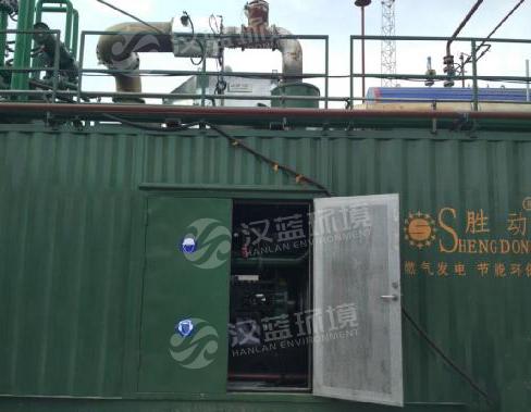 万纯燃气发电机组SCR脱硝系统