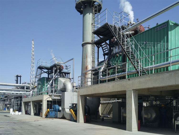 万纯内燃机加余热回收一体化脱硝系统