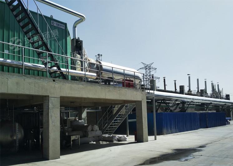 万纯内燃机加余热回收一体化SCR脱硝设备