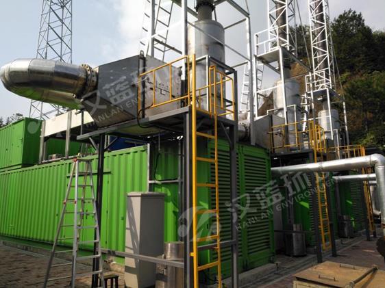 某生活垃圾填埋场沼气发电站亚博体育yabo88在线ios项目