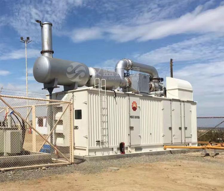 万纯天然气发电机组SCR脱硝设备