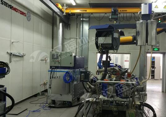 某发动机测试台架项目