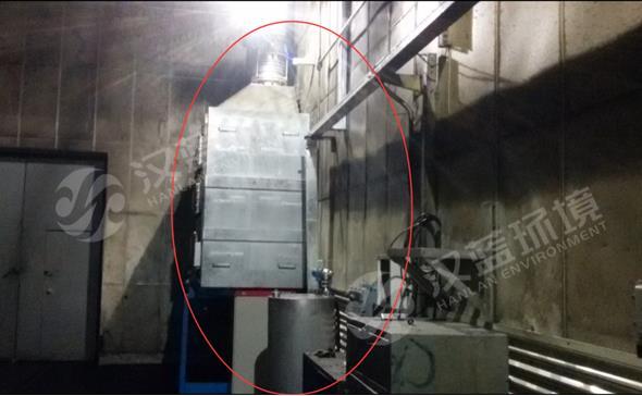 某柴油机热试台架烟气亚博体育yabo88在线ios项目